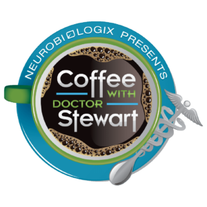 Coffee with Dr Stewart Logo